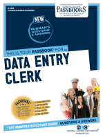 Data Entry Clerk