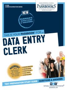 Data Entry Clerk: Passbooks Study Guide