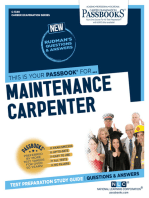 Maintenance Carpenter