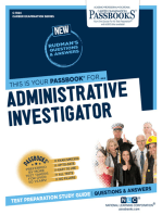 Administrative Investigator