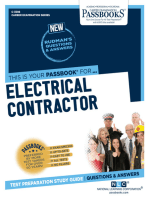 Electrical Contractor: Passbooks Study Guide