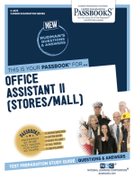 Office Assistant II (Stores/Mail)