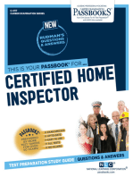 Certified Home Inspector: Passbooks Study Guide