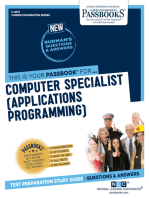 Computer Specialist (Applications Programming)