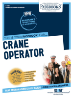 Crane Operator (Any Motive Power Except Steam)