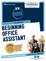 Beginning Office Assistant