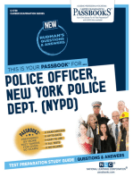 Police Officer, New York Police Department (NYPD)
