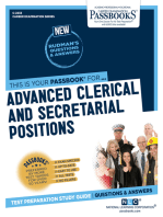 Advanced Clerical and Secretarial Positions
