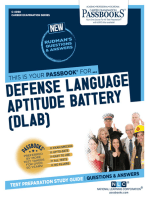 Defense Language Aptitude Battery (DLAB): Passbooks Study Guide