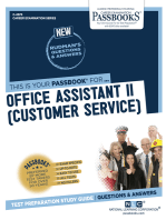 Office Assistant II (Customer Service)
