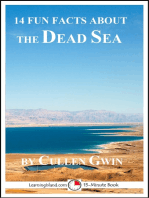 14 Fun Facts About the Dead Sea