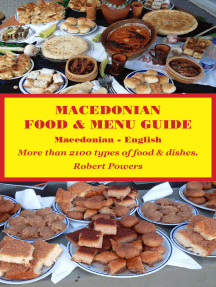 Macedonian Food & Menu Guide