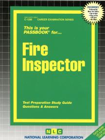 Fire Inspector: Passbooks Study Guide