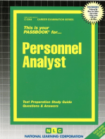 Personnel Analyst