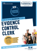 Evidence Control Clerk
