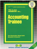 Accounting Trainee