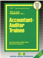 Accountant-Auditor Trainee