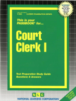 Court Clerk I