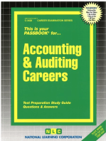 Accounting & Auditing Careers