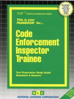 Code Enforcement Inspector Trainee