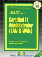 Certified IT Administrator (LAN & WAN)