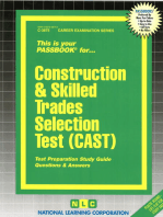 Construction and Skilled Trades Selection Test (CAST)