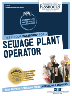 Sewage Plant Operator