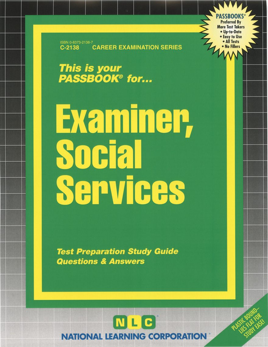 Read Examiner  Social Services Online By National Learning