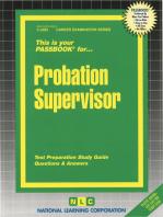 Probation Supervisor