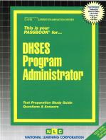 DHSES Program Administrator
