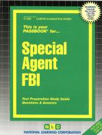 Special Agent FBI
