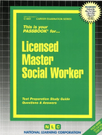 Licensed Master Social Worker