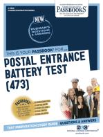 Postal Entrance Battery Test (473)