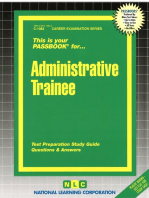 Administrative Trainee