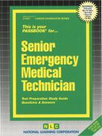 Senior Emergency Medical Technician