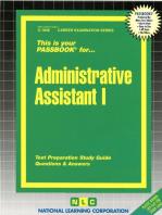 Administrative Assistant I