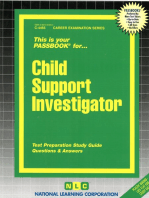 Child Support Investigator