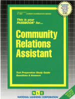 Community Relations Assistant
