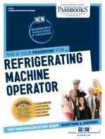 Refrigerating Machine Operator