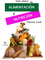 Guía básica de alimentación y nutrición