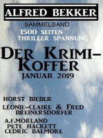 Der Krimi-Koffer Januar 2019 - 1500 Seiten Thriller Spannung