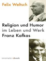 Religion und Humor im Leben und Werk Franz Kafkas