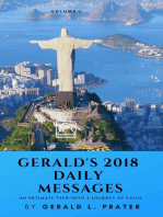 Gerald's 2018 Daily Messages