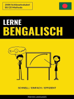 Lerne Bengalisch