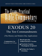 Exodus 20 (The Ten Commandments)