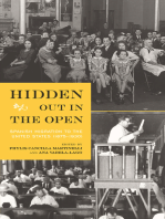 Hidden Out in the Open: Spanish Migration to the United States (1875-1930)