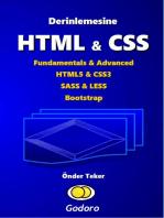 Derinlemesine HTML & CSS