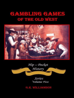 Gambling Games of the Old West