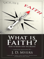 What is Faith? How to Know That You Believe