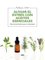 Aliviar el estrés con aceites esenciales